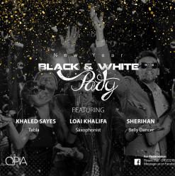 Black & White Party @ OPIA Cairo