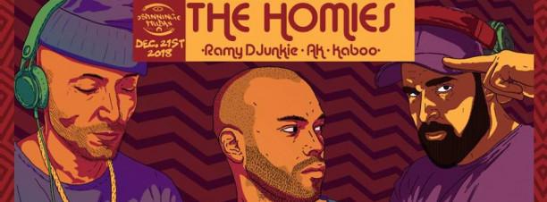 The Homies ft. Ramy DJunkie / AK / Kaboo @ Cairo Jazz Club 610