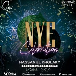 New Year's Eve Party ft. Hassan El Kholaky @ Gu Lounge