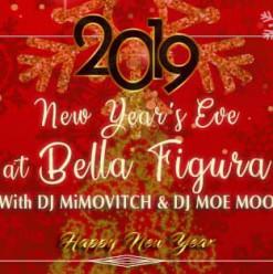 NYE Party ft. Mimovitch + DJ Moe Moo @ Bella Figura