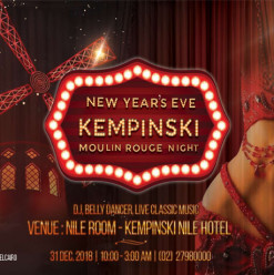 'Moulin Rouge' New Year's Eve at Kempinski Nile Hotel