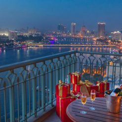New Year's Eve at Four Seasons Nile Plaza's Bella