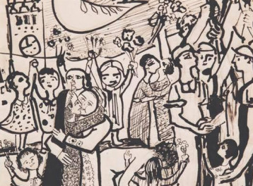 'Gazbia Sirry Retrospective' Exhibition at Zamalek Art Gallery