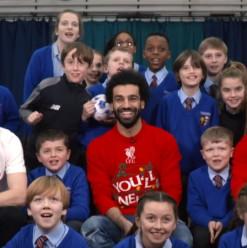 WATCH: Mo Salah Surprises Little Fans in This Heartwarming Video