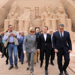 IN PICTURES: Macron Visits Upper Egypt