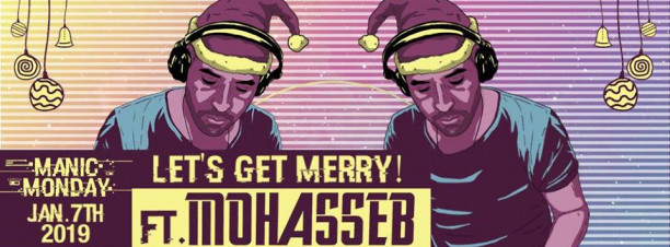 Let's Get Merry ft. Mohasseb @ Cairo Jazz Club (Christmas Celebration)