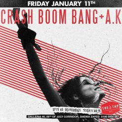 Crashboombang + A.K. @ The Tap West