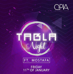 Tabla Night ft. Mostafa @ OPIA Cairo