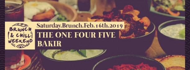 Saturday Brunch ft. The One Four Five / Bakir @ Cairo Jazz Club 610