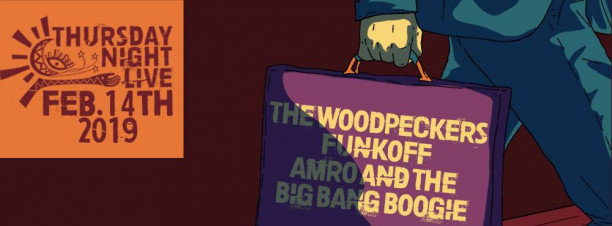 The Woodpeckers / Funk off / Amro & the Big Bang Boogie @ Cairo Jazz Club