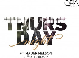 DJ Nader Nelson @ OPIA Cairo