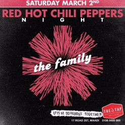 Red Hot Chili Peppers Night ft. The Family @ The Tap Maadi