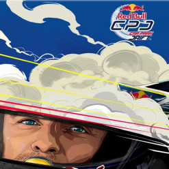 Red Bull Car Park Drift at Al Manara International Conferences Centre