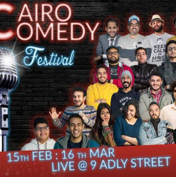 Cairo Comedy Festival at 9 Adly Street