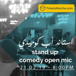 Stand-Up Comedy Night at Darb 1718