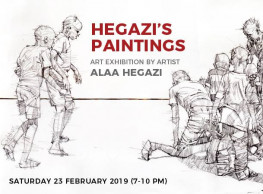 'Hegazi's Paintings' Exhibition at Arcade Gallery