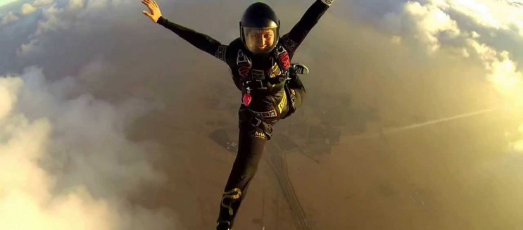 """WATCH: Meet Nada Attia, the Egyptian Female Literally Proving That """"The Sky Is the Limit"""""""