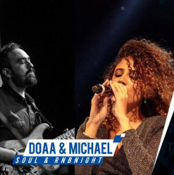 Do'aa & Michael at ROOM Art Space