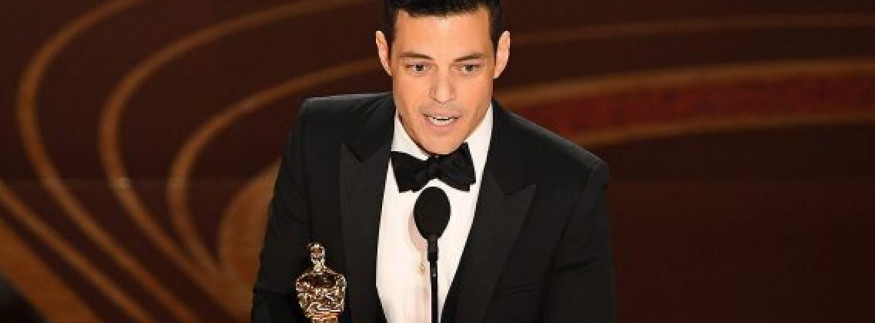 WATCH: Rami Malek Wins an Oscar & Pays Homage to His Egyptian Heritage!