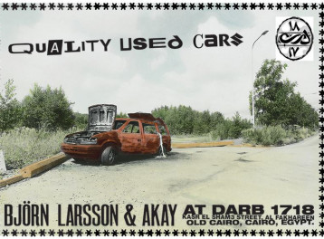 'Quality Used Cars' Exhibition at Darb 1718
