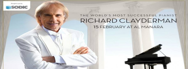 Richard Clayderman at Al Manara International Conference Centre