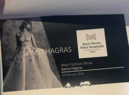 Samo Hagras' Fashion Show at Royal Maxim Palace Kempinski