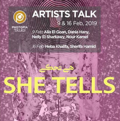 'She Tells' Exhibition Artists Talk at Photopia