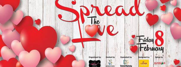 'Spread the Love' Bazaar at Downtown Katameya Mall
