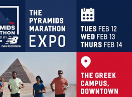 The Pyramids Marathon Expo at The Greek Campus