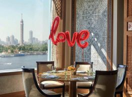 Valentine's Day at Four Seasons Hotel at Nile Plaza's Zitouni