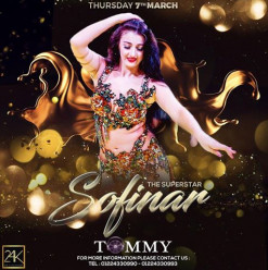 Belly Dancer – Sofinar ft. Dj Tommy @ 24K Lounge