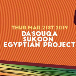 Homegrown Exposed ft. Do'souqa / Sukoon / Egyptian Project Acoustic @ Cairo Jazz Club