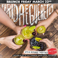 Friday Brunch ft. Farida Elguertly @ The Tap West