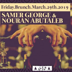 Friday Brunch ft. Samer George / Nouran Abutaleb @ Cairo Jazz Club 610