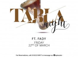 Tabla Night ft. Fady @ OPIA Cairo