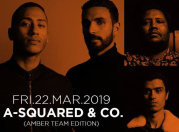 A-Squared & Co. (Amber Team Edition) @ Cairo Jazz Club