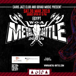 W.O.A Metal Battle Egypt @ Cairo Jazz Club 610