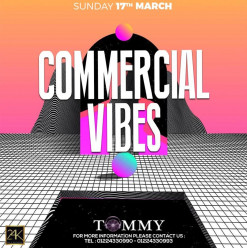 Commercial Vibes ft. DJ Tommy @ 24K Lounge