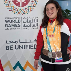 Dina Tarek Shines at the Special Olympics World Games 2019 in Abu Dhabi