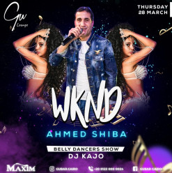 Ahmed Sheba ft. Belly Dancers Show @ Gŭ Lounge