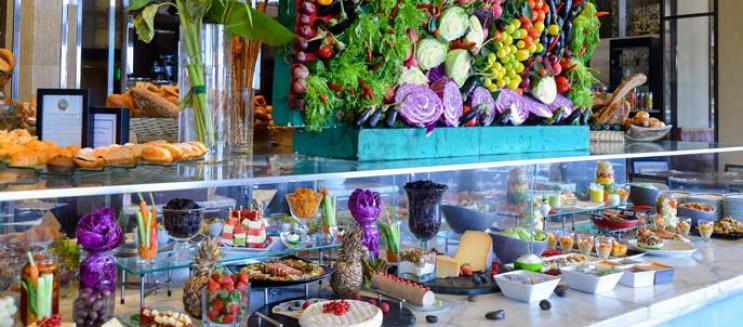 Semiramis InterContinental Cairo's Friday Brunch at Night & Day: A Brunch for All Tastes