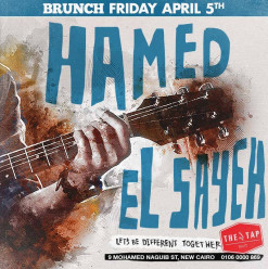 Friday Brunch ft. Hamed El Sayeh @ The Tap East