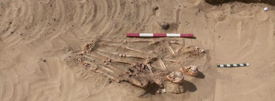 IN PICTURES: Sarcophagus Discovered in Menofia Governorate