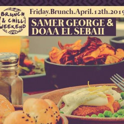 Friday Brunch ft. Samer George & Doaa El Sebaii @ Cairo Jazz Club 610