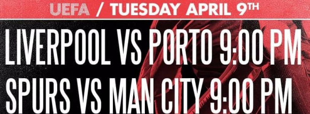 UEFA Champions League ft. Liverpool vs. Porto / Spurs vs. Man City @ The Tap Maadi