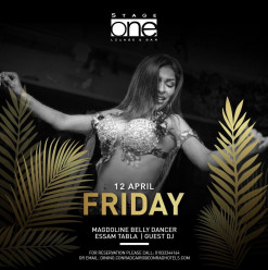 Belly Dancer – Magdoline / Tabla – Essam / Guest DJ @ Stage One Bar & Lounge
