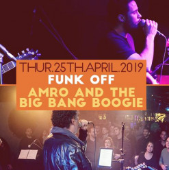 Thursday Night Live ft. Funk OFF / Amro and the Big Bang Boogie @ Cairo Jazz Club