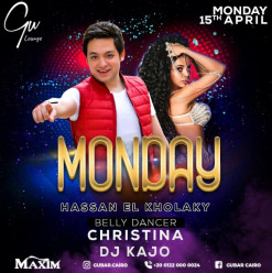 Hassan El Kholaky / Belly Dancer ft. Christina / DJ Kajo @ Gŭ Lounge