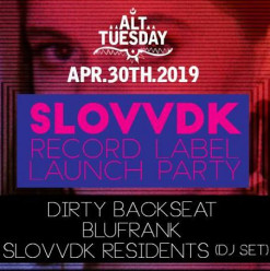 SLOVVDK Record Label Launch ft. Dirty Backseat / BLUFRANK @ Cairo Jazz Club