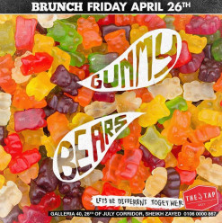 Friday Brunch ft. Gummy Bears @ The Tap West